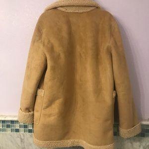 Zara Jackets & Coats - Zara Kids Sherpa Jacket Coat (Fit Women XS S M)